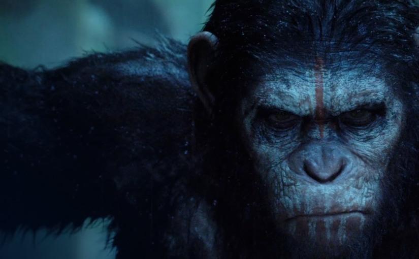El planeta de los simios:Confrontación