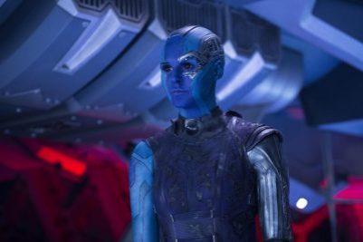 Karen Gillan en Guardianes de la Galaxia Vol. 2 (2017)