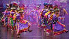 Cada año, en un barrio de la delegación Iztacalco, en la Ciudad de México, integrantes de la comunidad boliviana se reúnen junto a los vecinos del lugar para llevar a cabo un carnaval similar al que se realiza en Oruro, Bolivia, para honrar a la popular Virgen del Socavón.