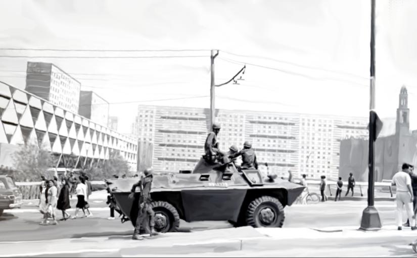 Cine en la Plaza | Olimpia, a 50 años de Elgrito