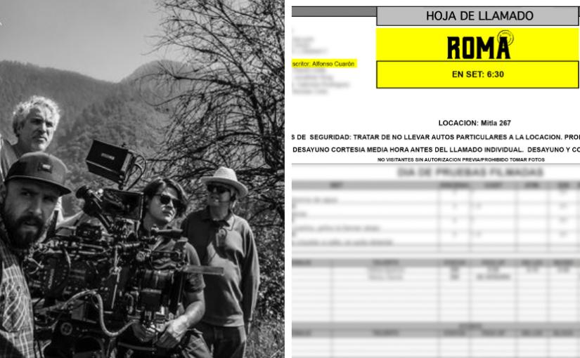 ¿Galo Olivares co-dirigió la fotografía deRoma?