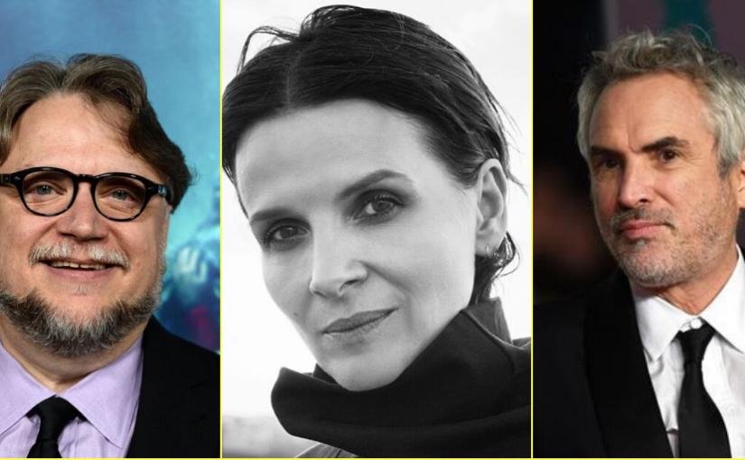 FICM libera conferencias de Juliette Binoche, Cuarón, Del Toro y muchasmás