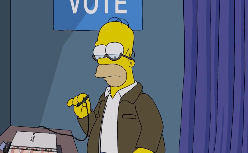 'Los simpson' sugieren 50 razones contra la reelección de DonaldTrump
